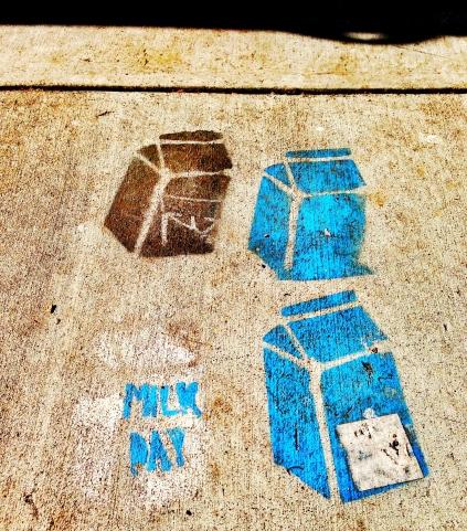 Milk day.
